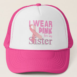 Breast Cancer Awareness for Sister Trucker Hat
