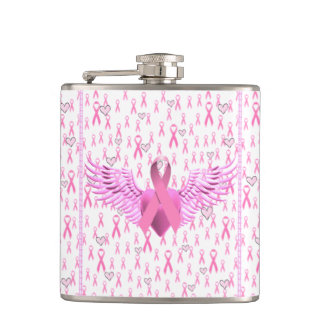 Breast Cancer Awareness,HOPE_ Hip Flask