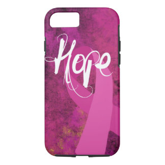Breast Cancer Awareness iPhone 7 case: Hope iPhone 7 Case