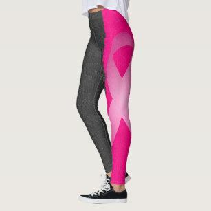 e2b7e6d4212f Women's Breast Cancer Leggings & Tights   Zazzle AU