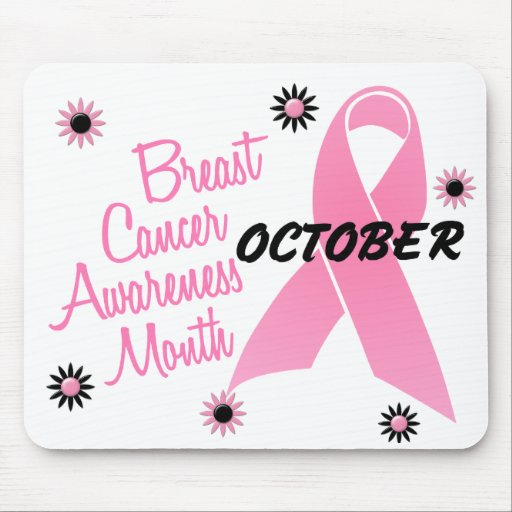 Breast Cancer Awareness Month Mouse Pads