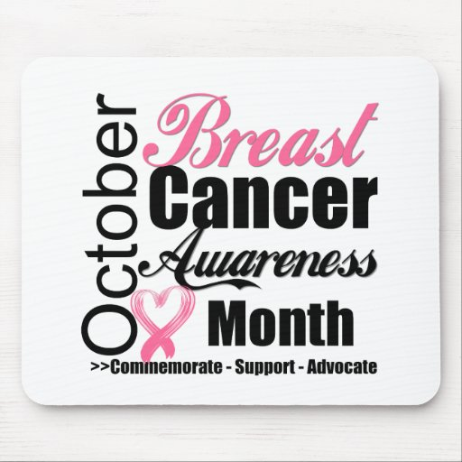 Breast Cancer Awareness Month October v3 Mousepads