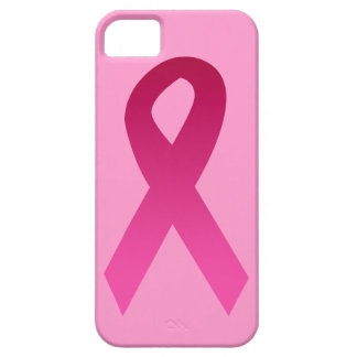 Breast cancer awareness pink ribbon iPhone 5/5S covers