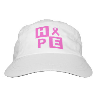 Breast Cancer Awareness Pink Ribbon Hope design Hat