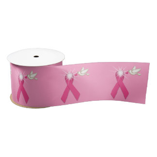 Breast Cancer Awareness | Pink Ribbon Satin Ribbon