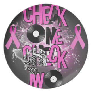 Breast Cancer Awareness Plate