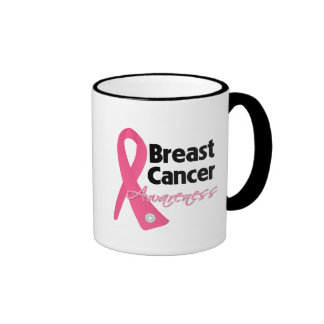Breast Cancer Awareness Ribbon Coffee Mug