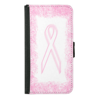 Breast Cancer Awareness Samsung Galaxy S5 Wallet Case