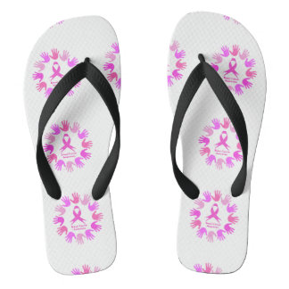 Breast cancer awareness support thongs
