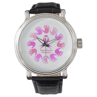 Breast cancer awareness support watch