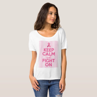 Breast Cancer Awareness T-Shirt - Keep Calm