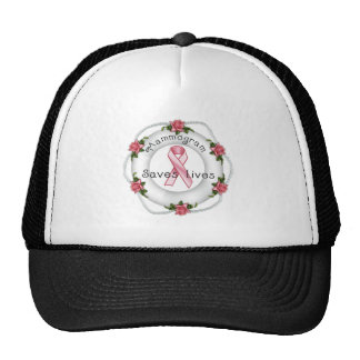 BREAST CANCER AWARENESS - think pink!! Hat