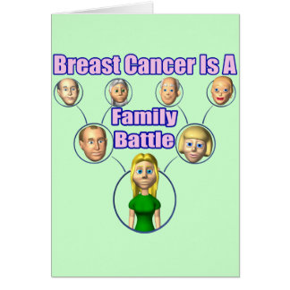 Breast Cancer Battle Card