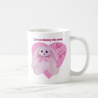 Breast Cancer Bunny Mug