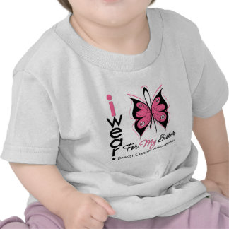 Breast Cancer Butterfly Ribbon For My Sister Shirt