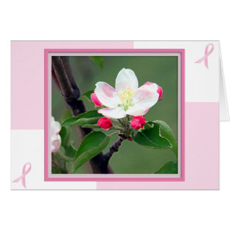 Breast Cancer Card; Breast Cancer Awareness Card