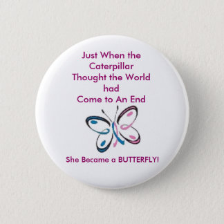 Breast Cancer Caterpiller Pin