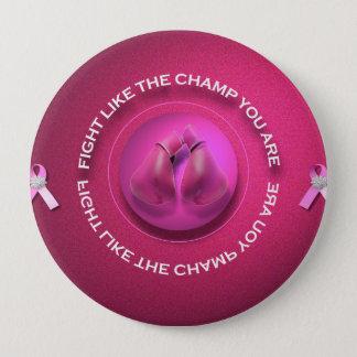 Breast Cancer Champ 10 Cm Round Badge
