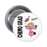 Breast Cancer CHEMO GRAD 1 Button
