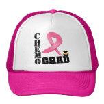 Breast Cancer Chemo Grad Trucker Hat