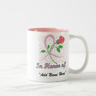 Breast Cancer Customisable In Honour Of Mug