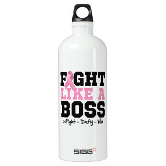 Breast Cancer Fight Like a Boss SIGG Traveller 1.0L Water Bottle