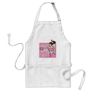 Breast Cancer Fight Like A Girl Boxer Standard Apron