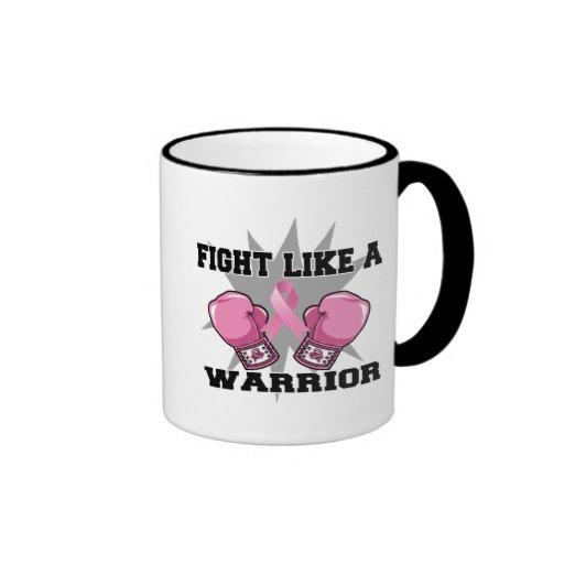 Breast Cancer Fight Like a Warrior Mug