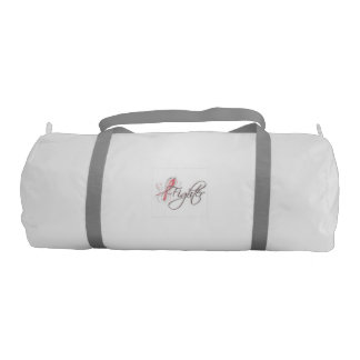 breast cancer fighter gym bag gym duffel bag