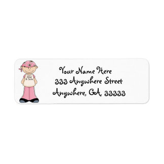 Breast cancer find a cure return address labels