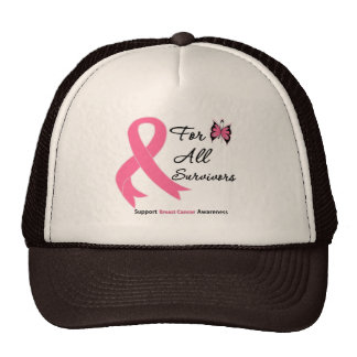 Breast Cancer For All Survivors Hats
