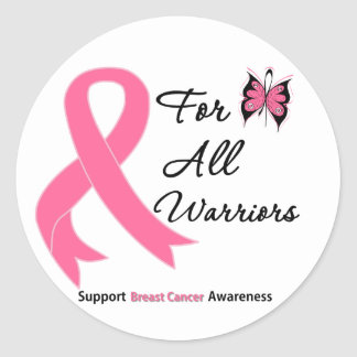 Breast Cancer For All Warriors Stickers