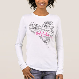 Breast Cancer Heart Long Sleeve T-Shirt