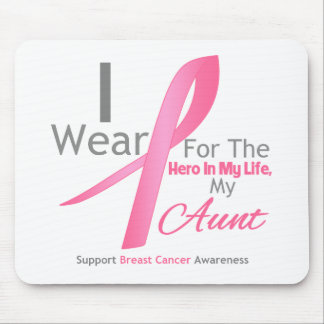 Breast Cancer Hero - Aunt Mouse Pad