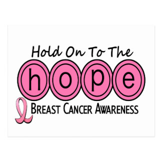 Breast Cancer HOPE 6 Postcard