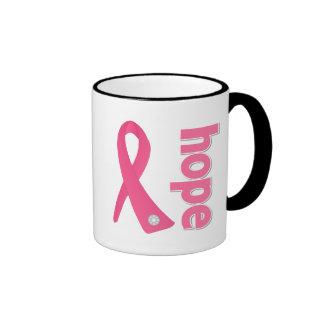 Breast Cancer Hope Ribbon Coffee Mug