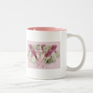 Breast Cancer Hope Two-Tone Coffee Mug
