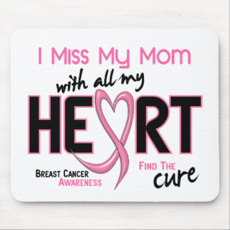 Breast Cancer I Miss My Mom Mouse Pad