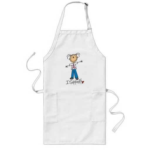 Breast Cancer I Support Tshirts and Gifts Apron