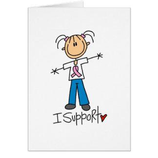 Breast Cancer I Support Tshirts and Gifts Card