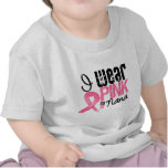 Breast Cancer I Wear Pink Ribbon For My Nana T-shirts