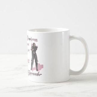 Breast Cancer - I will never surrender Coffee Mug