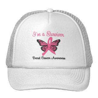 Breast Cancer I'm a Survivor Hats
