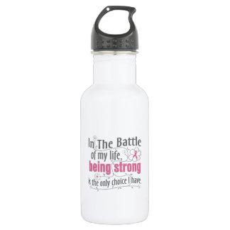 Breast Cancer In The Battle 532 Ml Water Bottle