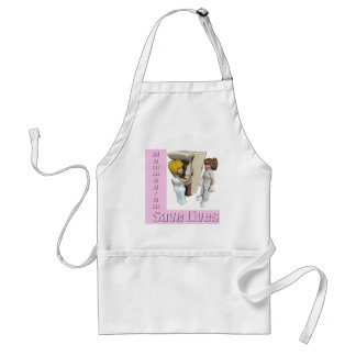 Breast Cancer Mammogram Apron