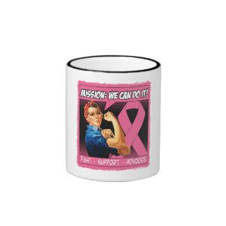 Breast Cancer Mission We Can Do It Ringer Mug