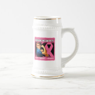 Breast Cancer Mission We Can Do It Mug