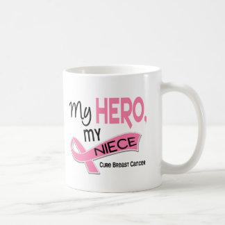 Breast Cancer MY HERO, MY NIECE 42 Coffee Mug