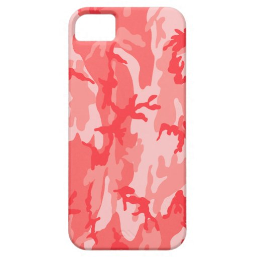 Breast Cancer Pink Camo Case For iPhone 5/5S