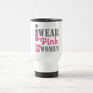 BREAST CANCER PINK RIBBON All Women Coffee Mugs